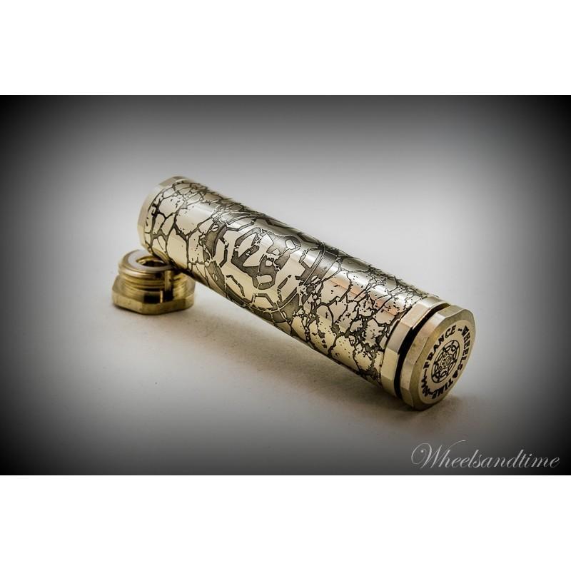 Lampe de poche 28mm de diamètre Mod laiton Steampunk