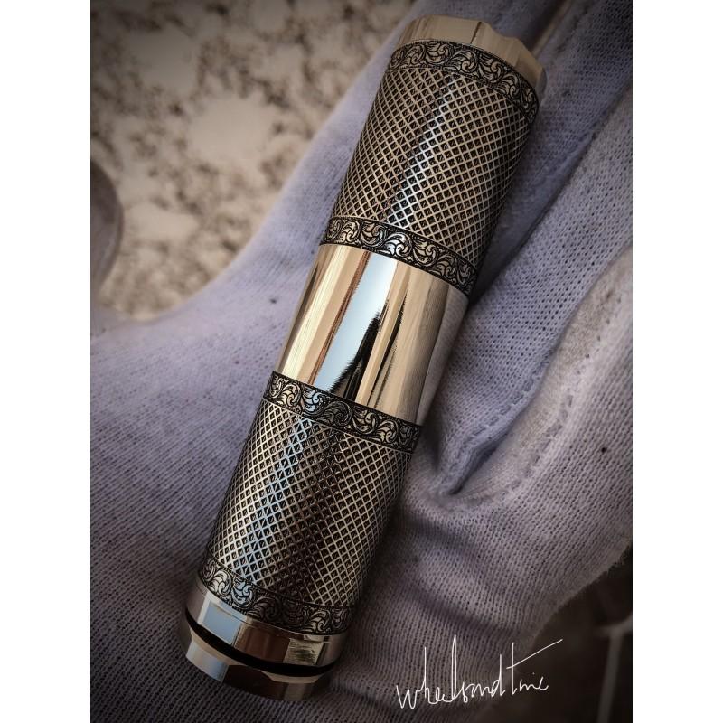 """Schreibe """"gerändelte"""" Batterie 18650 (24mm)"""