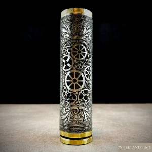 Titanium Mech Mods created in France by Wheels & Time